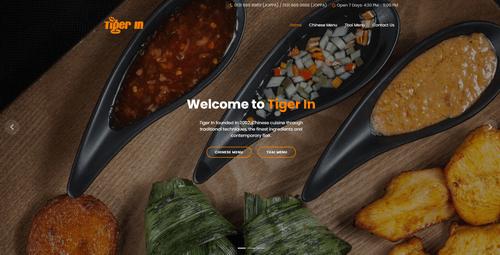 EH Web Works portfolio - Tiger-in